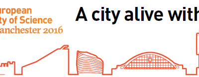 European City of Science graphic