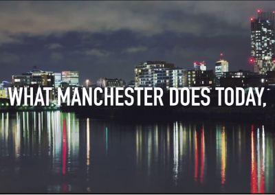 Invest in Manchester promotional video